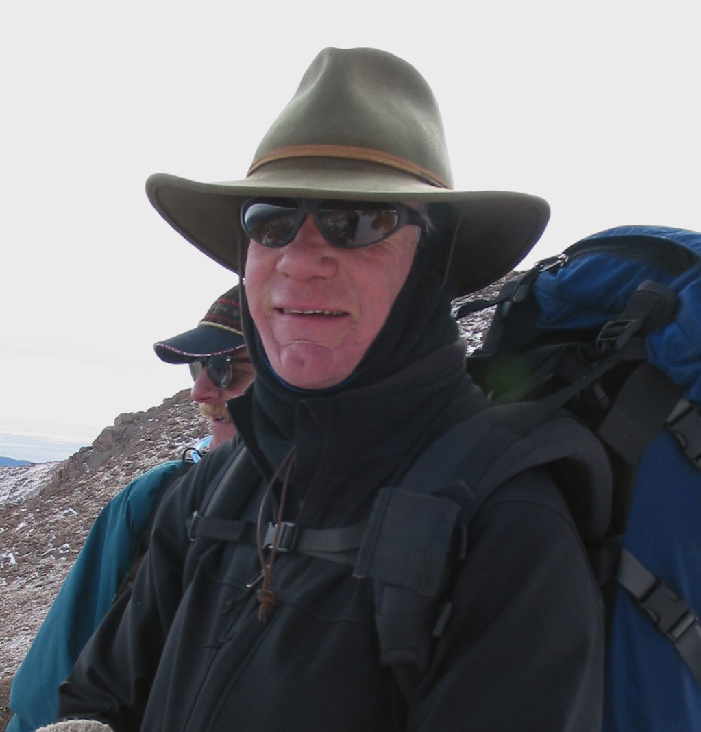 Bill Slaughter on the Trail