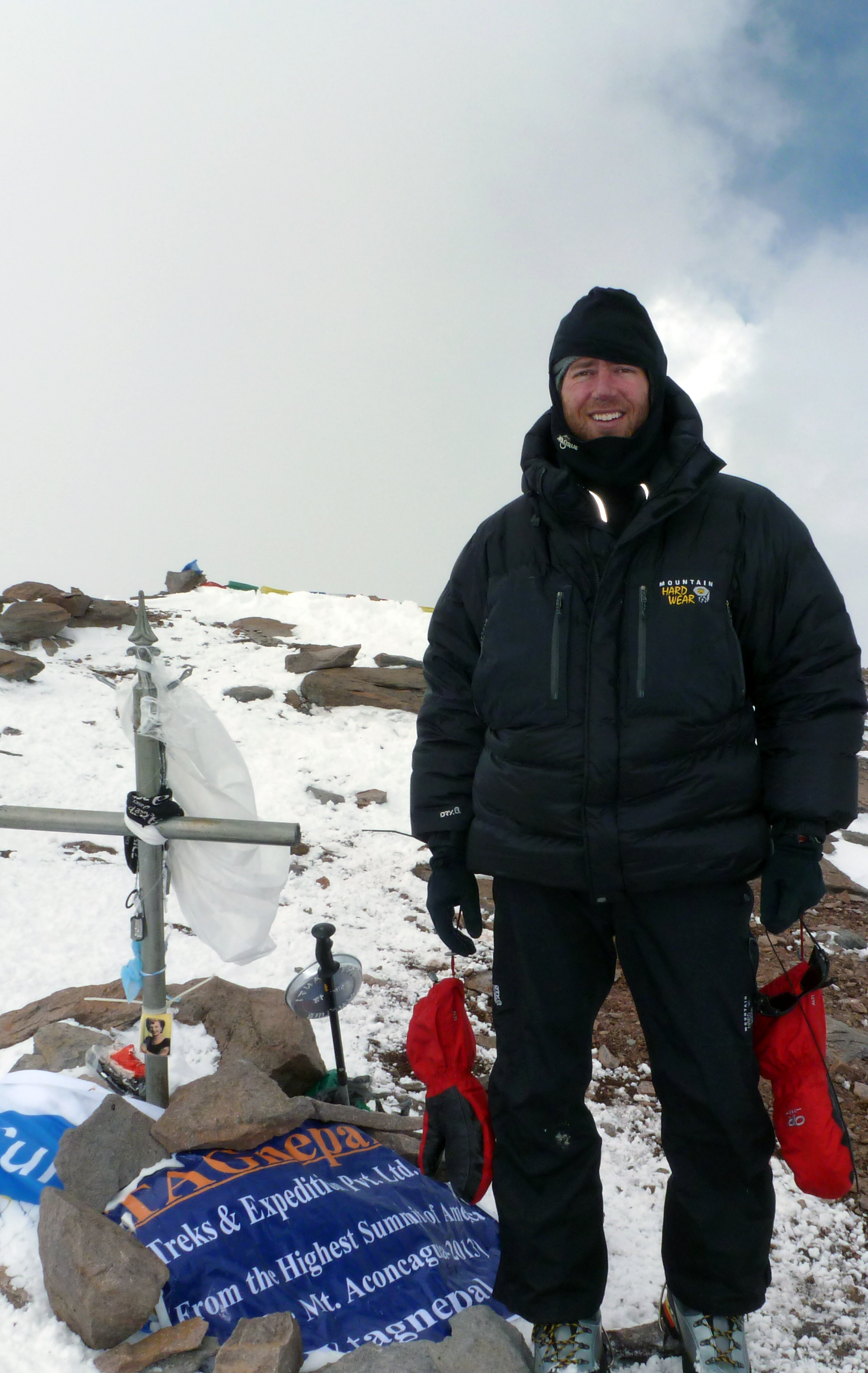 Dave Artusi - Summit of Aconcagua 2013